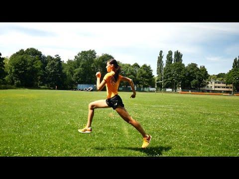 Embedded thumbnail for Siła biegowa – skipy, wieloskok – pokazuje mistrzyni Polski juniorów