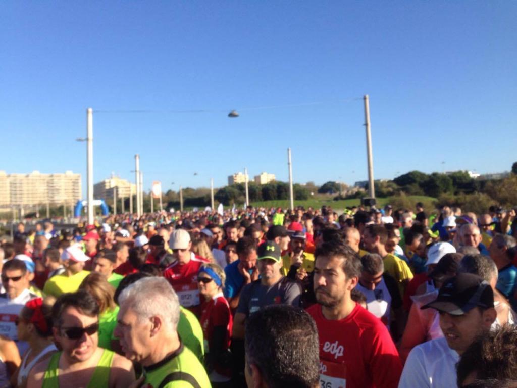 Tłum przed startem