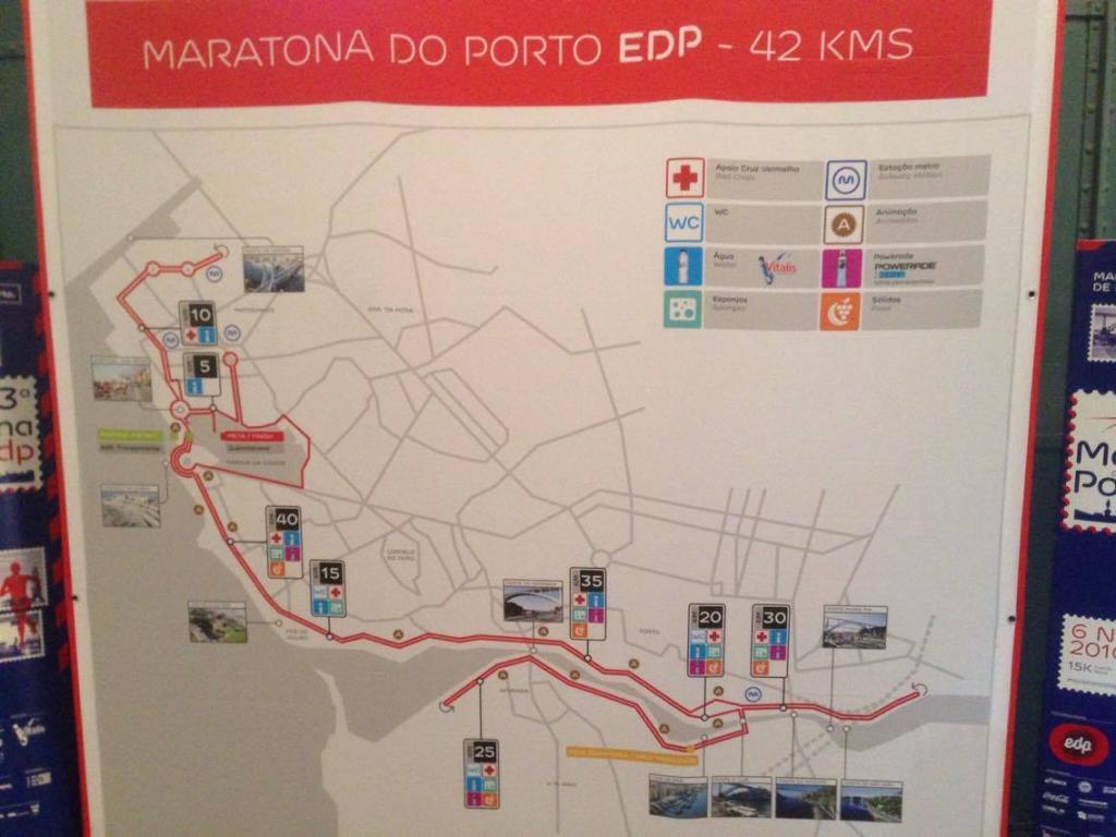 Trasa Maratona do Porto