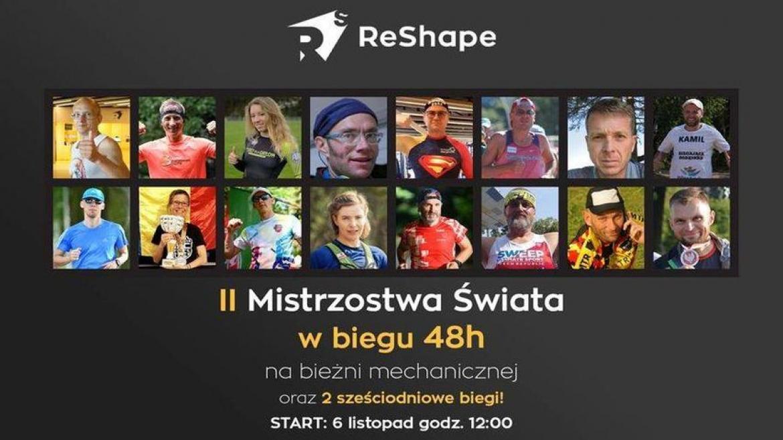 II Mistrzostwa Polski w biegu 48h na bieżni mechanicznej o puchar klubu ReShape
