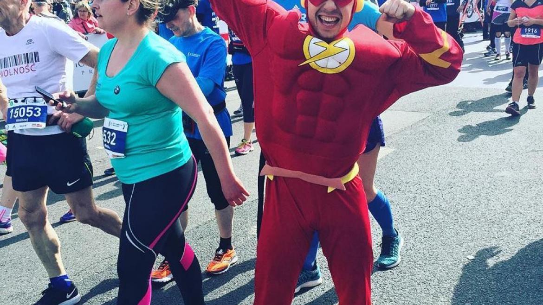 Relacja z 11. Półmaratonu Warszawskiego, czyli o tym jak strój superbohatera rozpoczął mój nowy rozdział w życiu