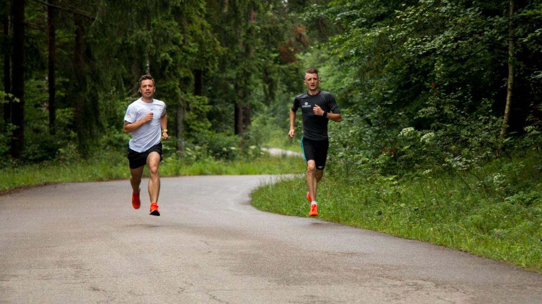 Trening Marcina Chabowskiego