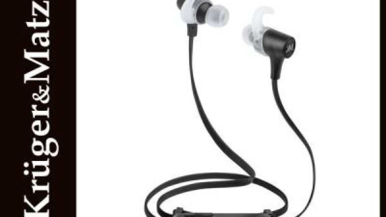recenzja słuchawek sportowych kruger&matz