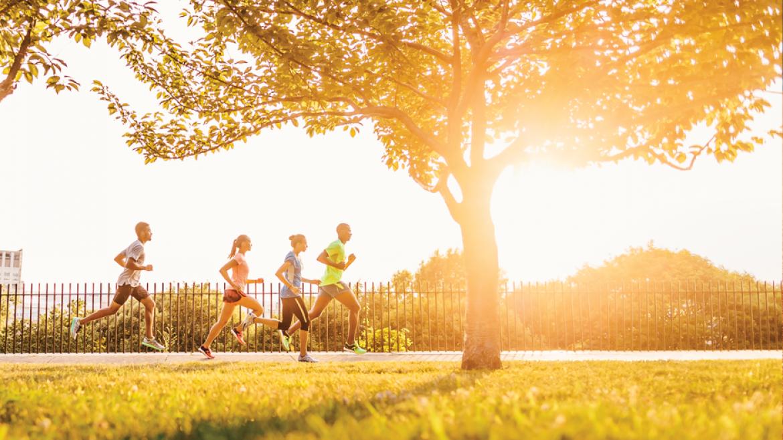 5 porad jak biegać w upale
