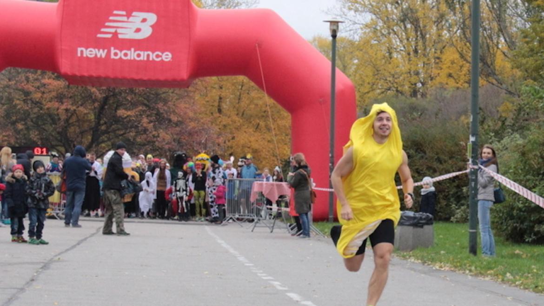 II Charytatywny Bieg Przebierańców Jeff's Banana Run