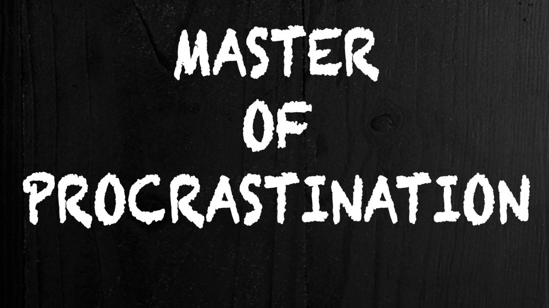 Bieganie z prokrastynacją