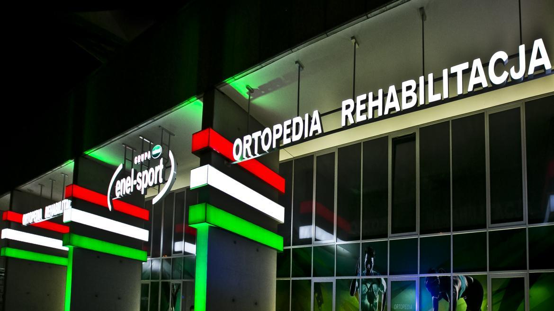 Ważne miejsce na mapie sportowej Warszawy - klinika Enel-Sport