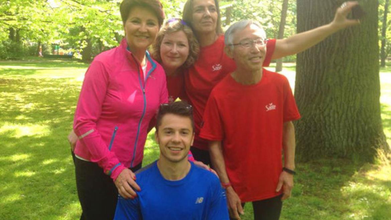 Slow jogging z perspektywy biegacza